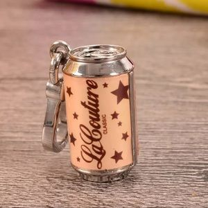Juicy Couture Classic Can of Soda Charm Pendant